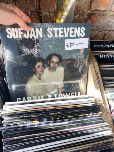 Sufjan Stevens - Carrie & Lowell Vinyl LP - Strip Joint ...